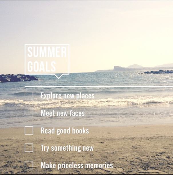 SummerGoals